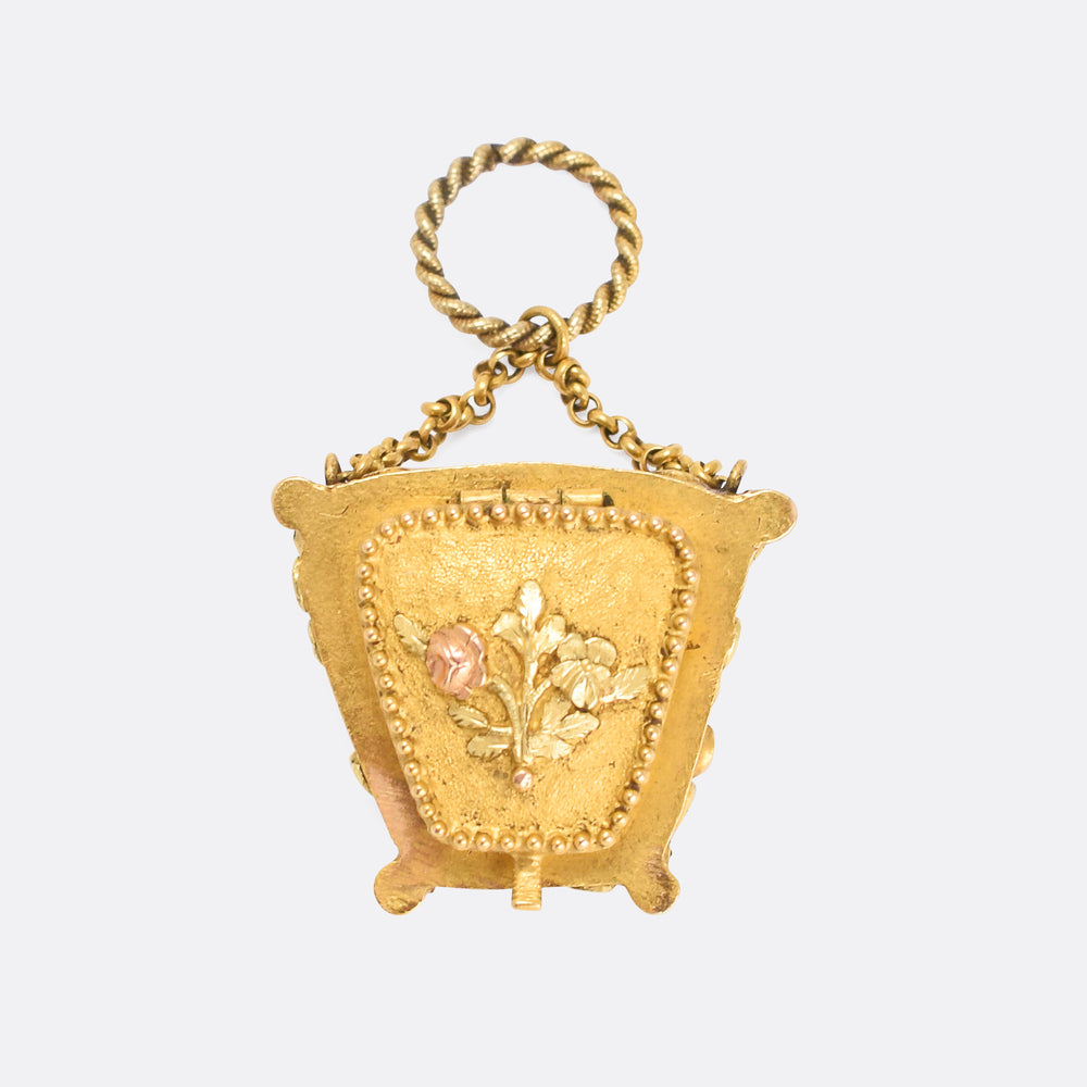 Georgian Acrostic SOUVENIR Purse Locket