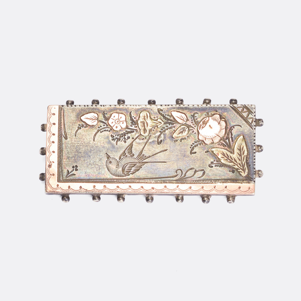 Victorian Aesthetic Movement Brooch