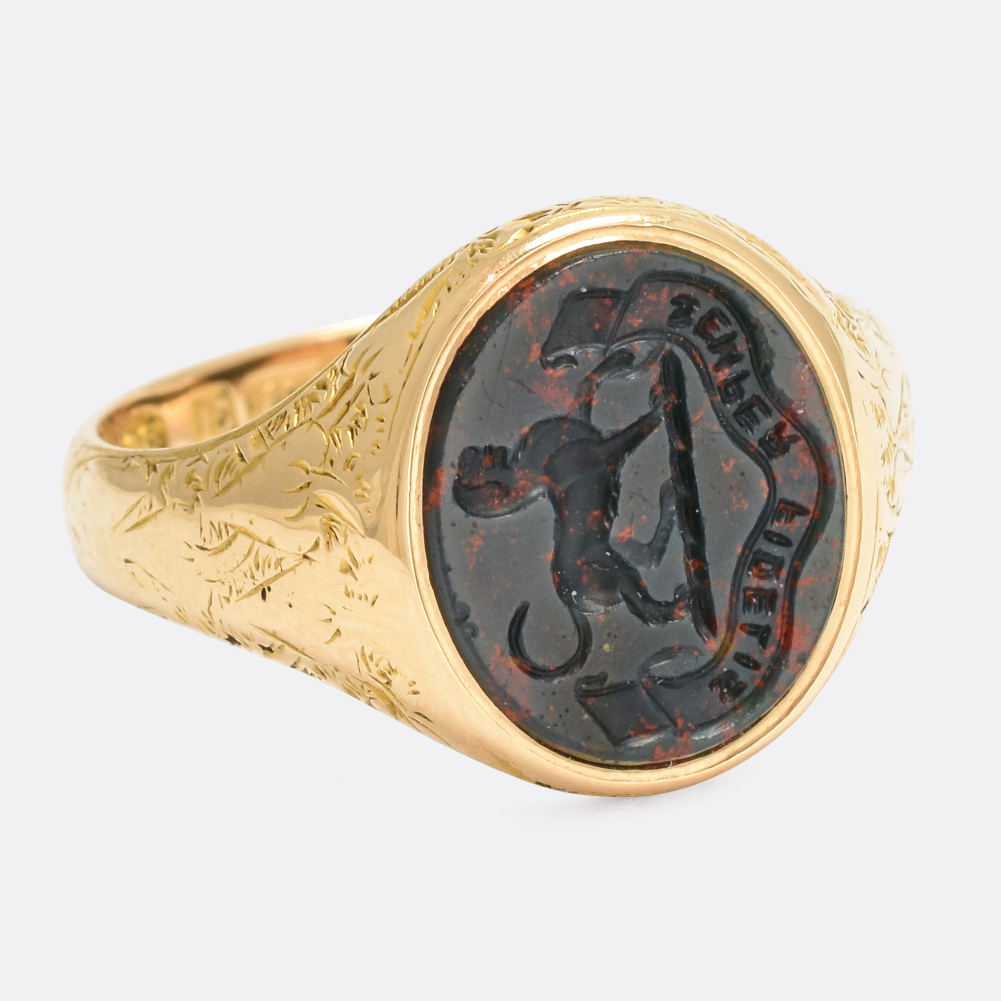 rebus crest engraving gallery a lion rings signet ring of deep us seal