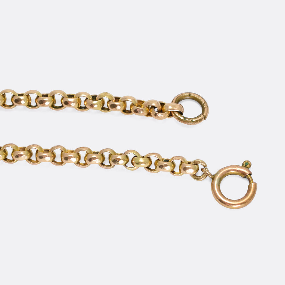 Victorian Fancy-Link Gold Belcher Chain
