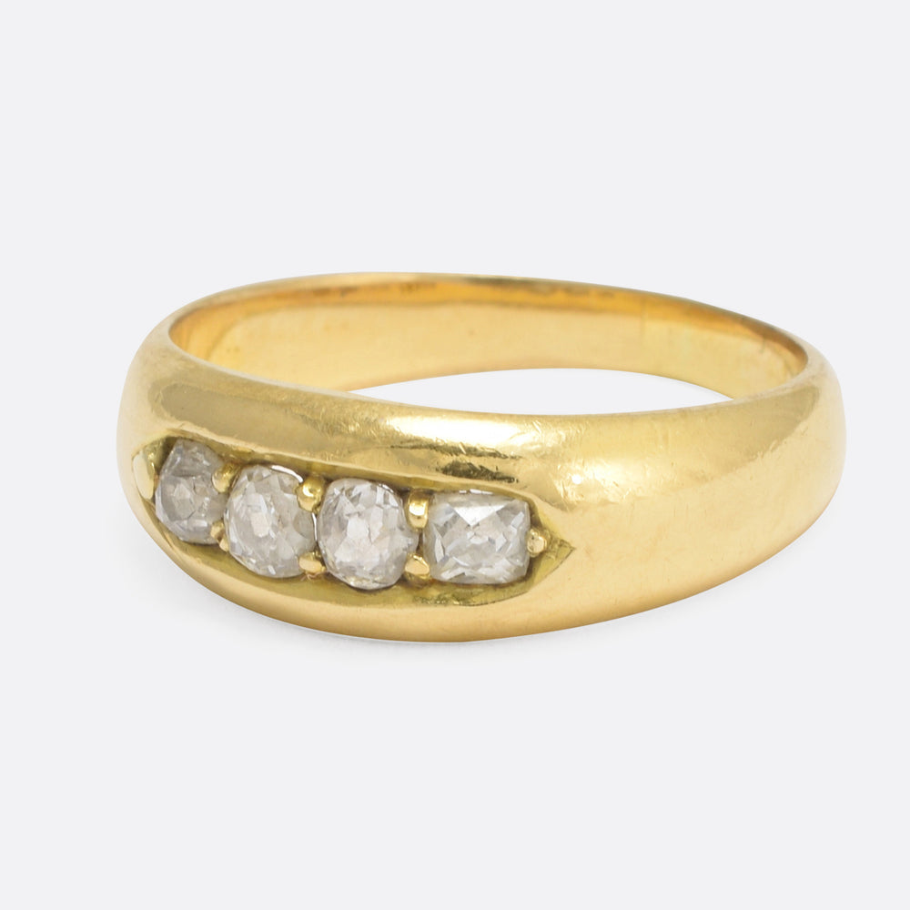 Victorian Four Diamond Band