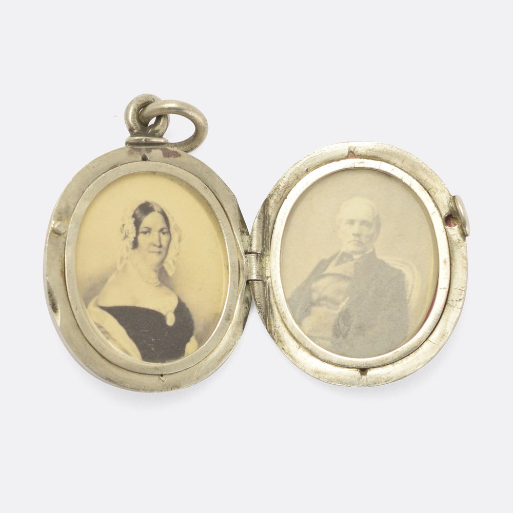 Victorian Mother & Father Locket