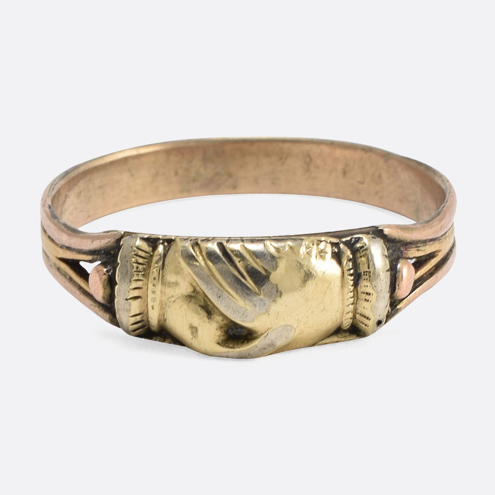 Victorian Two-Tone Fede Ring