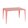 Dining Table - Chamfer Kalypso Red