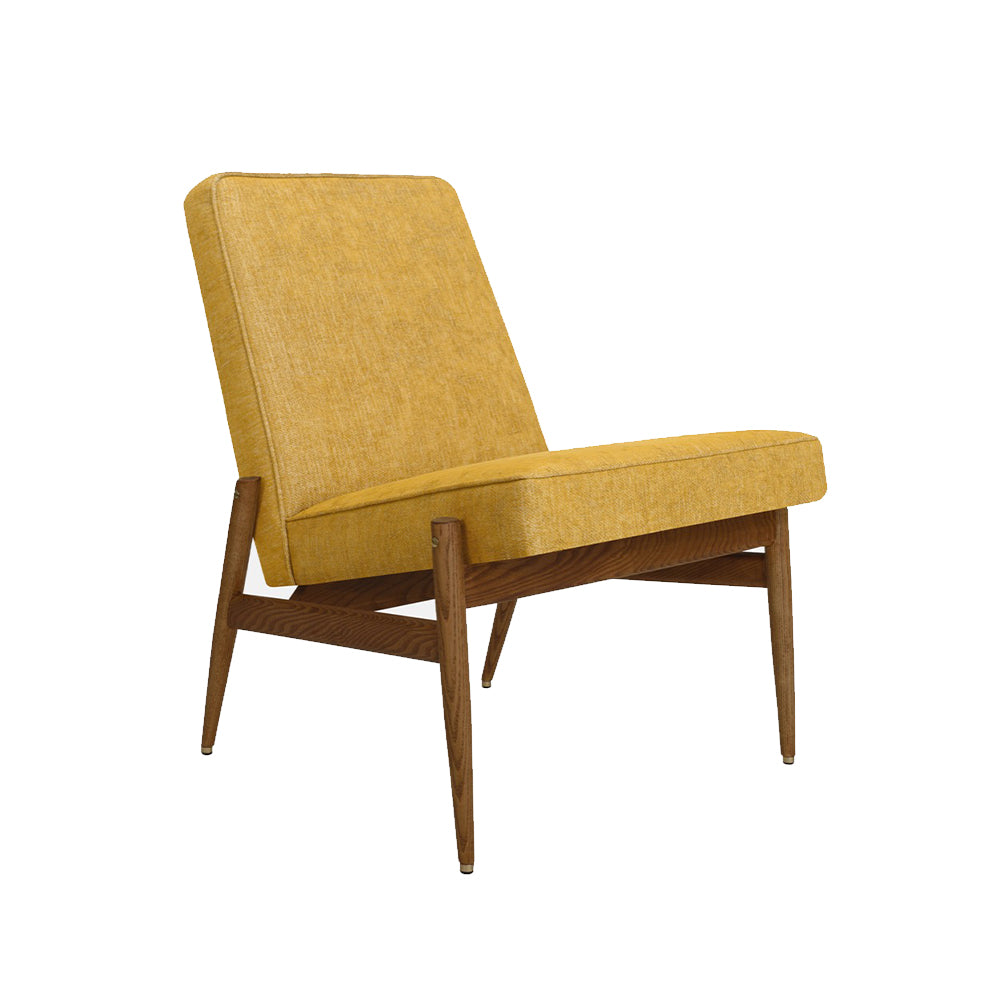 Fox - Loft Club Chair Mustard