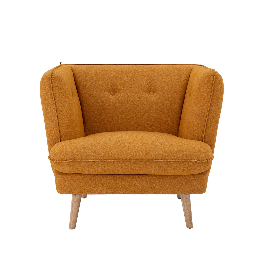Elliot chair orange