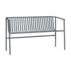 Outdoor Bench - Metal Grey in stock: 1