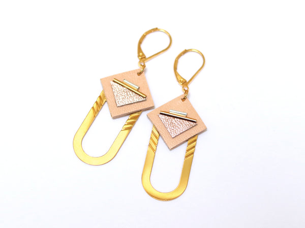 Earrings - SAQ Hoops Pink