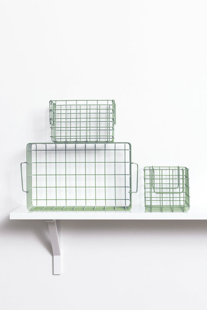 The baskets - Sage in stock : 1