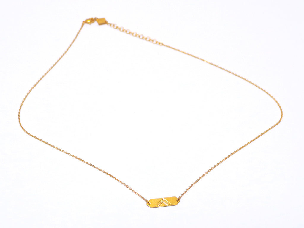 Necklace - LOUVRE Necklace Gold