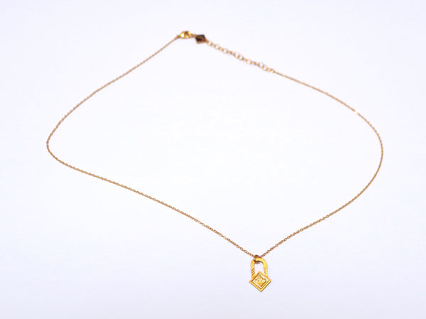 Necklace - SAQ Necklace Gold