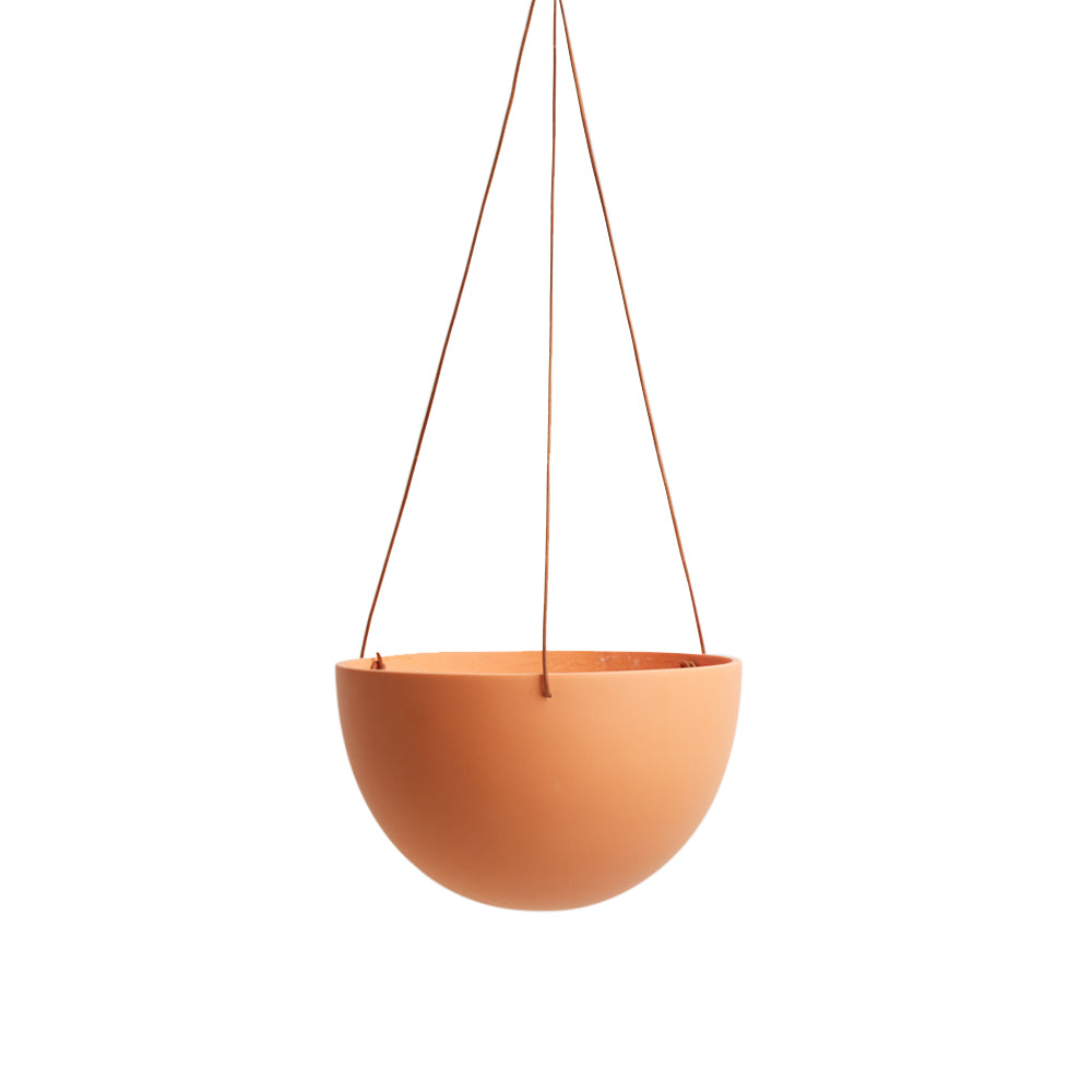 Block Color Dome Hanging Planter Desert
