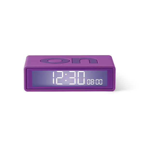 Lexon flip clock 2 - Purple