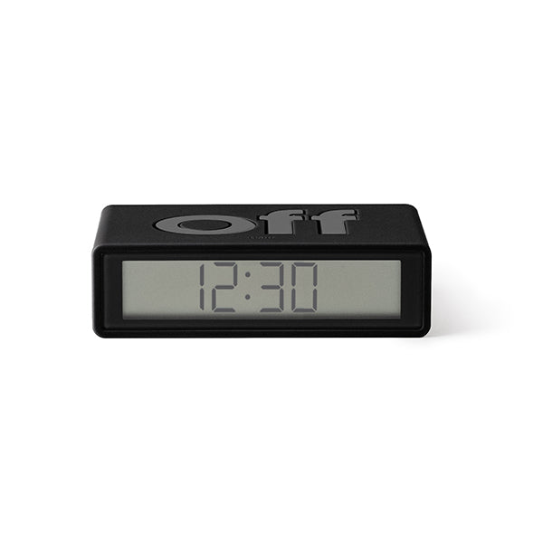 Lexon flip clock 2 - Black