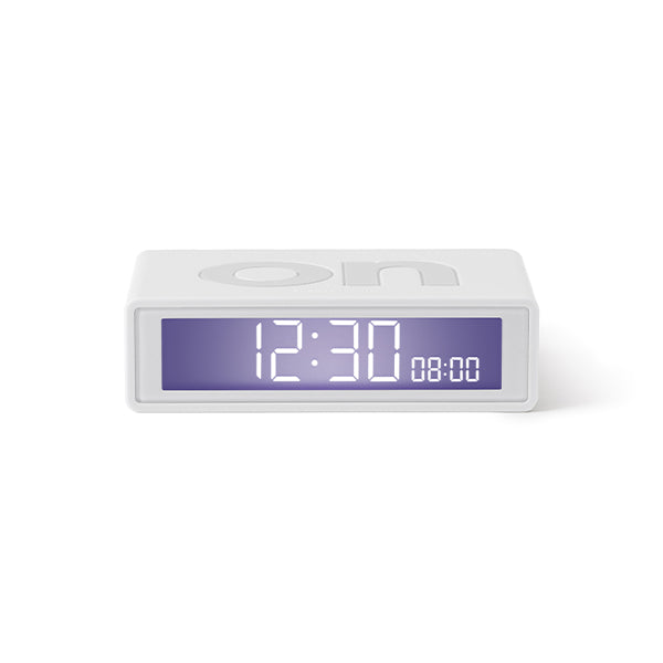 Lexon flip clock 2 - White