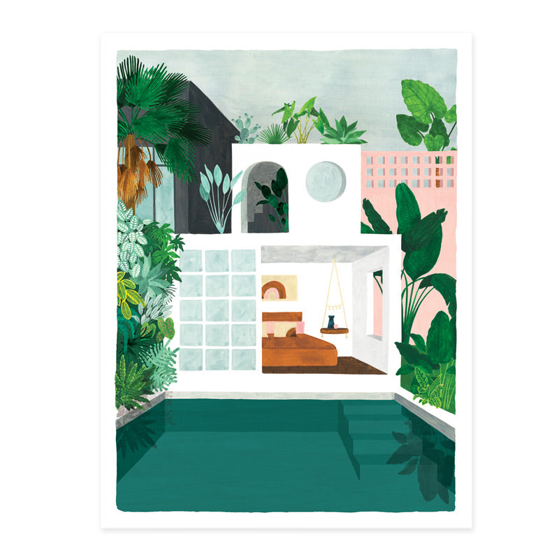 Art print - Guesthouse (Small & Medium)