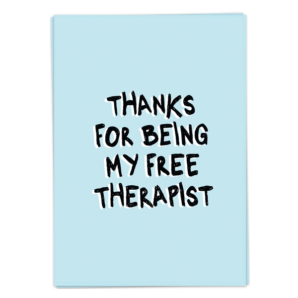 Postcard - Free Therapist