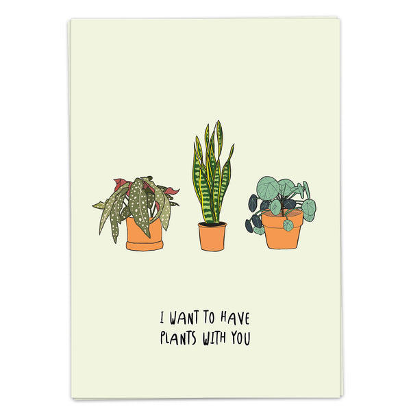 Postcard - Plants With You
