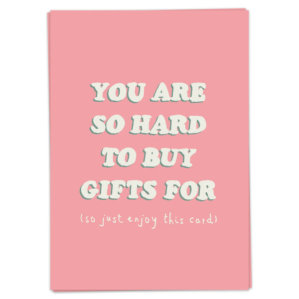 Postcard - Hard To Buy Gifts for