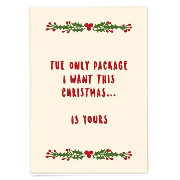 Postcard - The Only Package