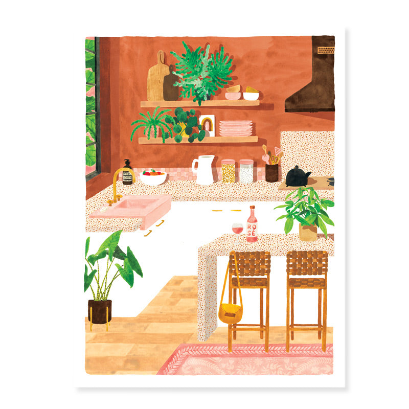 Art print - Kitchen (Small & Medium)
