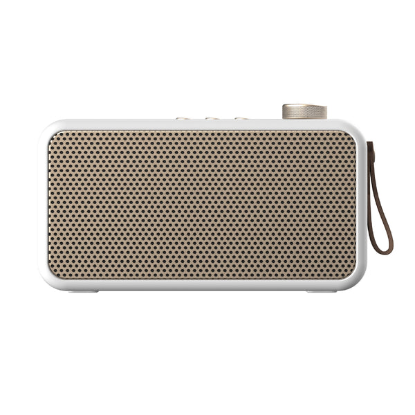 Bluetooth radio - aTune white/champagne