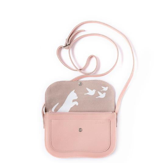 Bag Cat Chase Medium - Soft Pink