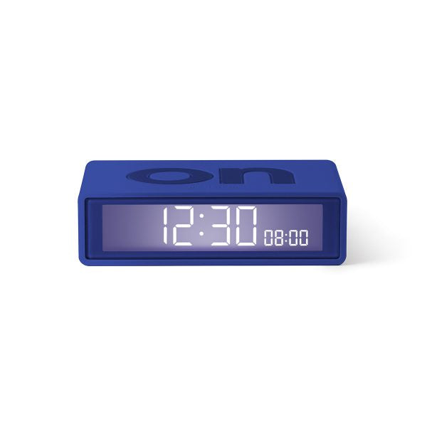 Lexon flip clock 2 - Blue