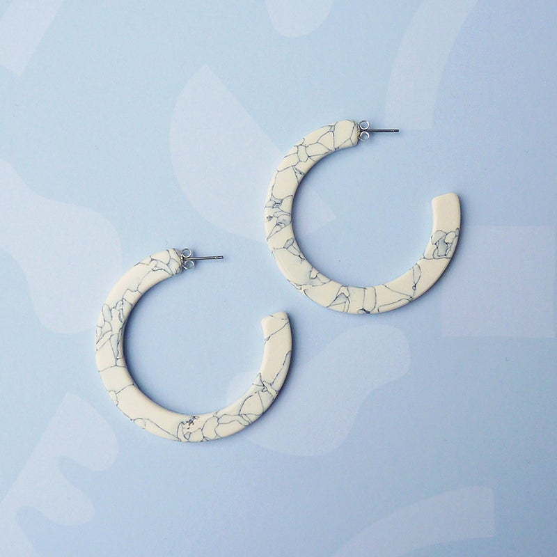 Earrings - Marmaro Hoops