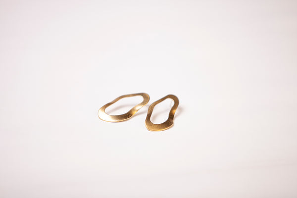 Earrings - Ripple Gold