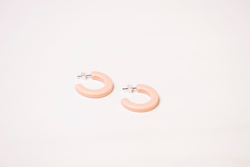 Earrings - Elpis Dusty Pink