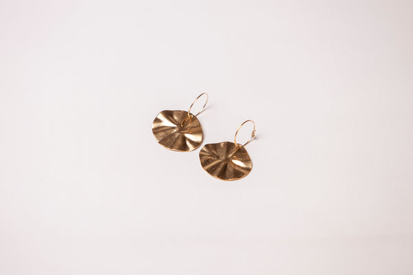 Earrings - Flora Gold