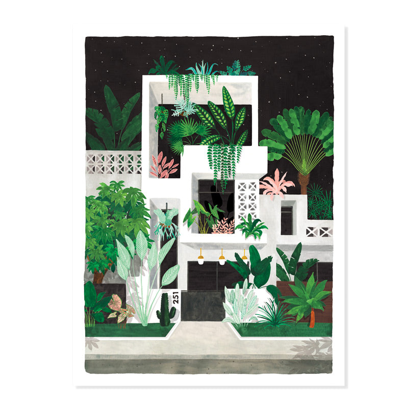 Art print - Miami By Night (Small)
