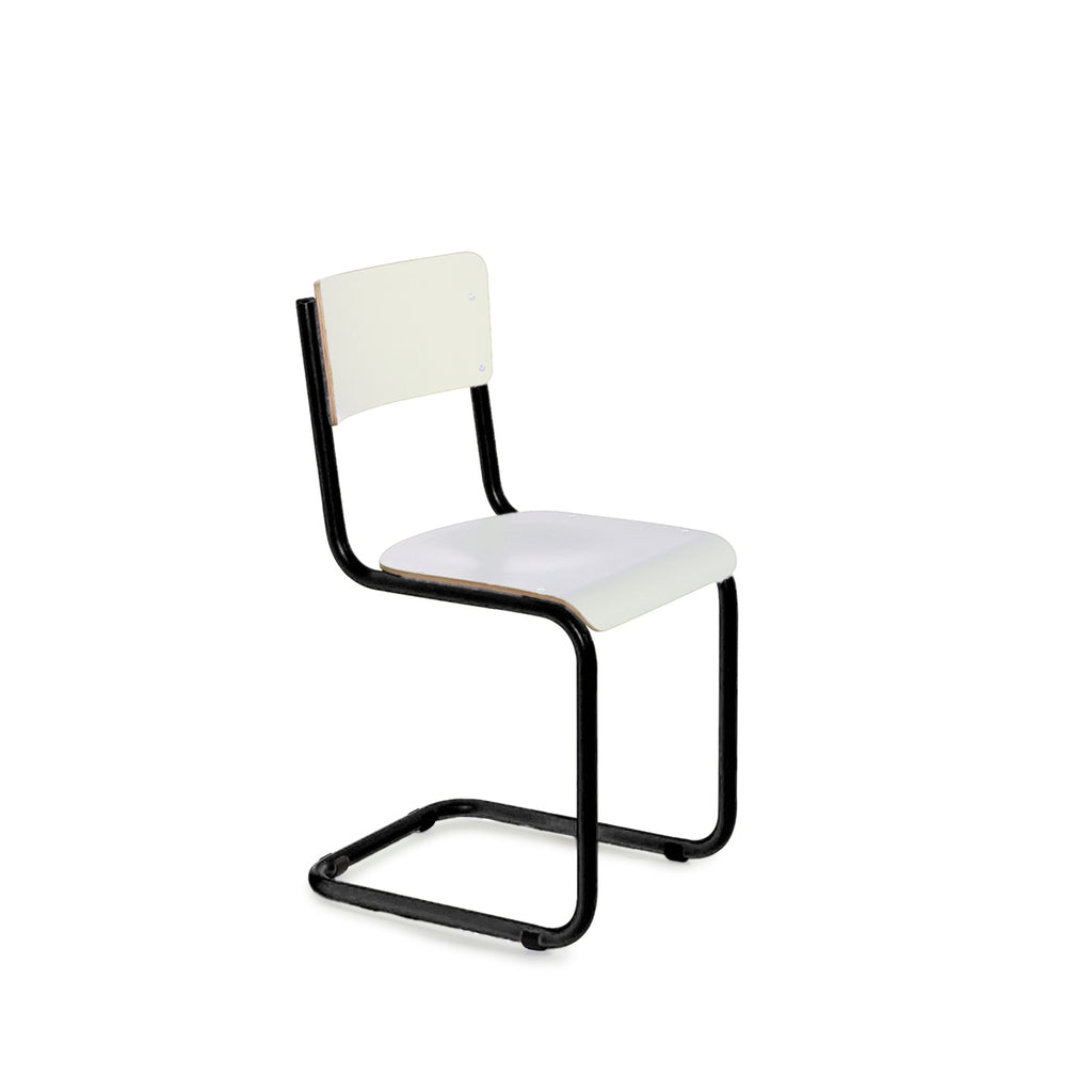 Vintage Chair - Black/White