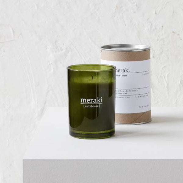 Scented Candle - Earthbound Meraki