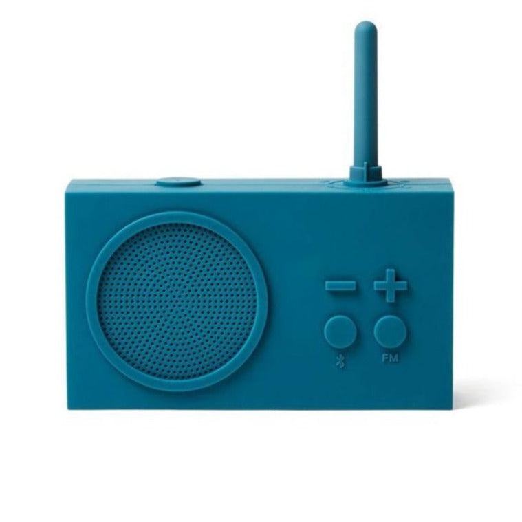 Lexon Tykho Fm Radio & Bluetooth speaker - Duck Blue