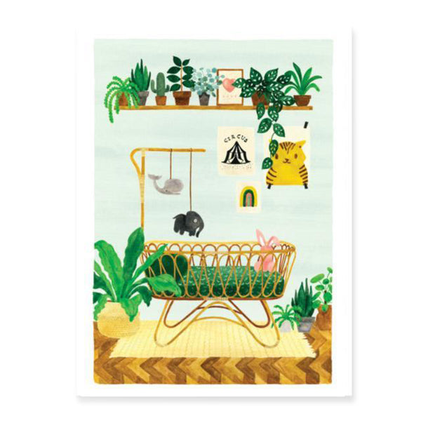 Art print - Boy Bedroom (Small & Medium)