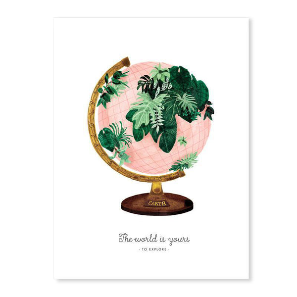 Art print - World-All the ways to say-My Ex Boyfriend