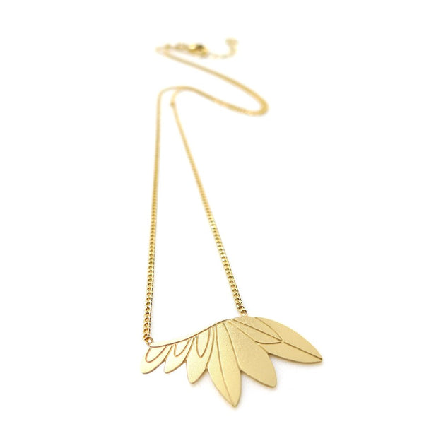 Necklace - Feathers