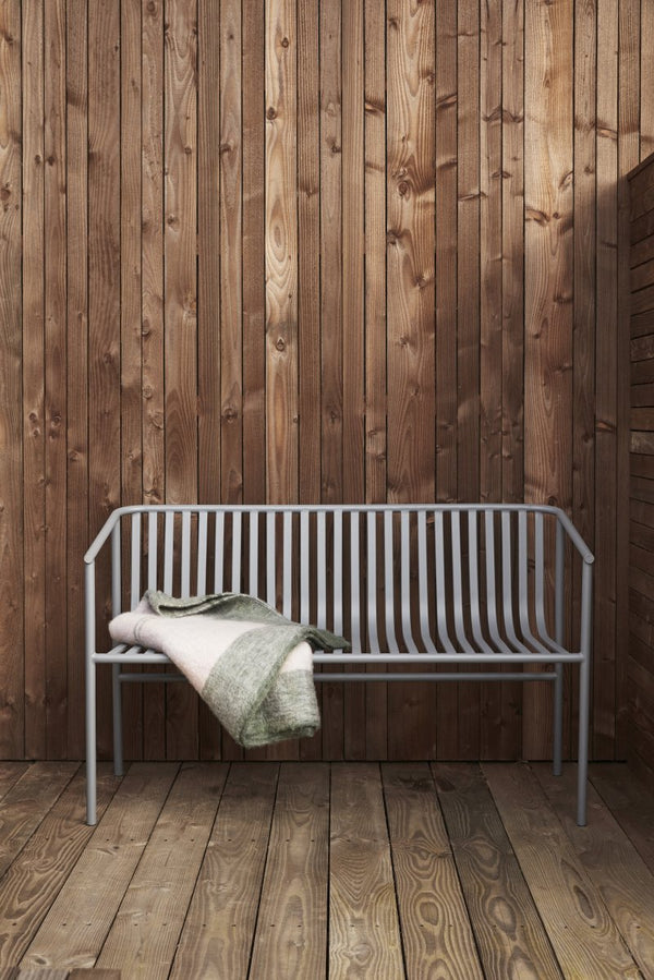 Outdoor Bench - Metal Grey