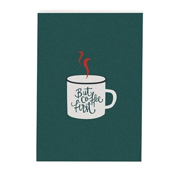 Postcard - Coffee First