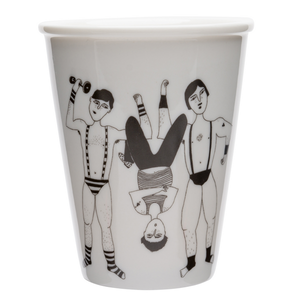 Porcelain cup - 'The Ronaldo Boys'