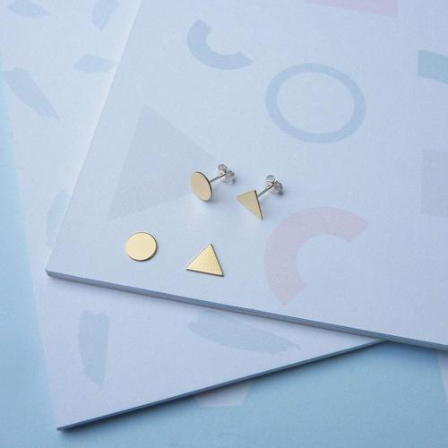 Earrings - Balance Studs-Custom Made-My Ex Boyfriend