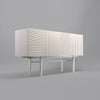 Cupboard - Orto White Engraved