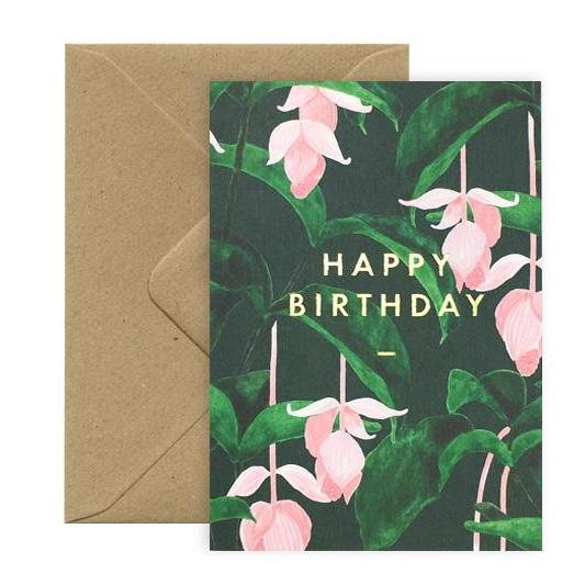 Postcard - Happy Birthday Medinilla-All the ways to say-My Ex Boyfriend