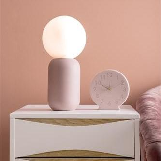 Table Lamp - Iron Faded Pink-Present Time-My Ex Boyfriend