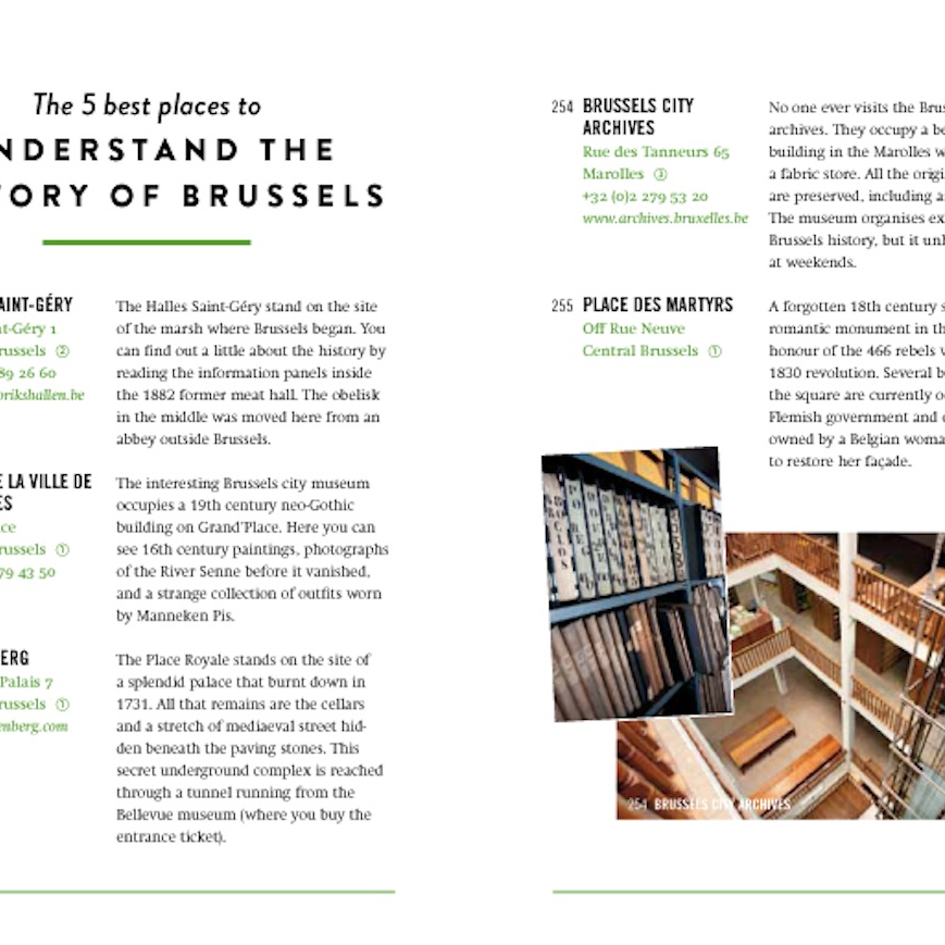 The 500 Hidden Secrets of Brussels-Luster-My Ex Boyfriend