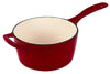 Cuisine & Company 2.5 qt. Enameled Cast Iron Saucepan with Lid