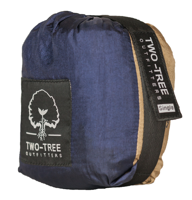 Single Hammock w/ Straps - Two Tree Outfitters