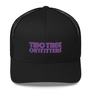 UnWaivered Trucker - Grape - Two Tree Outfitters